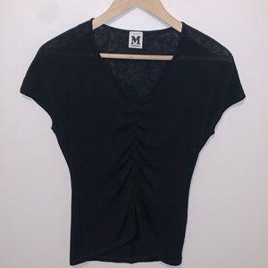 Missoni Black Short Sleeve Sweater